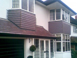 Canopy Roof Tiling